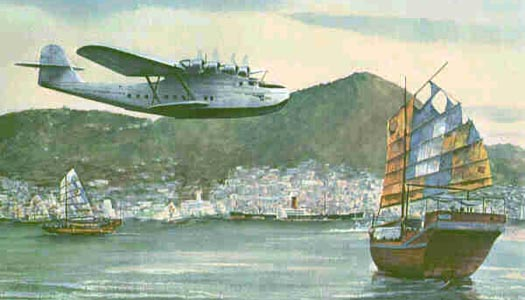 The China Clipper - The Martin M-130 @ flyingclippers com